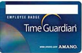 Amano Time Guardian Badges 201 - 250, p/n AMX-409400