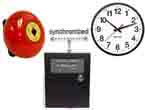 Worshift timer with bell and synchronized wall clock