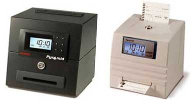 Time Clock Outlet Ptr44100 10 500 500 Pyramid Time Cards