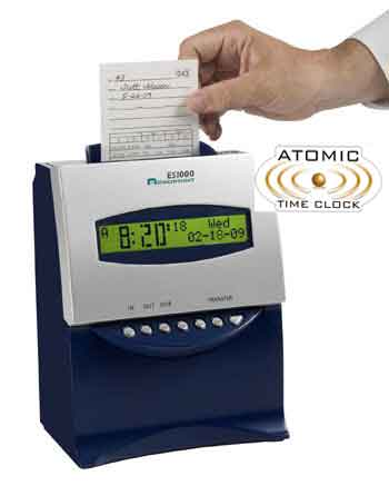Acroprint ES1000 atomic clock