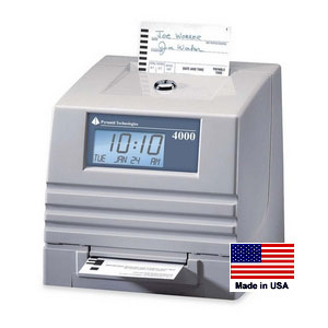 Time Clock Outlet Pyramid 4000r Self Totaling Clock Ptr4000