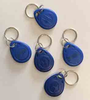 Time Clock Outlet - uAttend RFID Key Tags (25) uAttend RFID