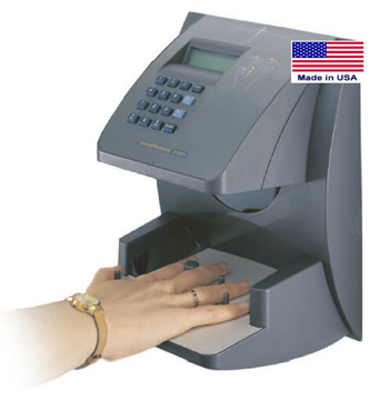 Hand Punch Biometric Time Clock